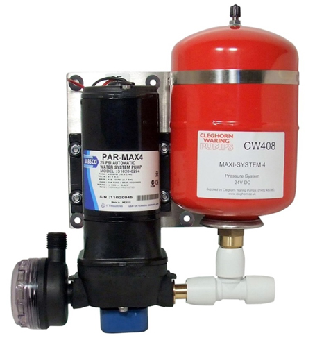 Jabsco Maxi-System 4 + 2 Pressure System 24v
