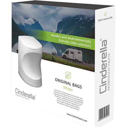 Cinderella Motion Toilet Bags 500 pcs