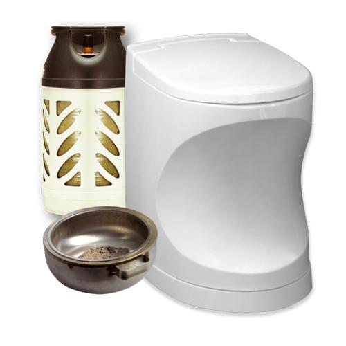 Cinderella Motion Incinerator Toilet