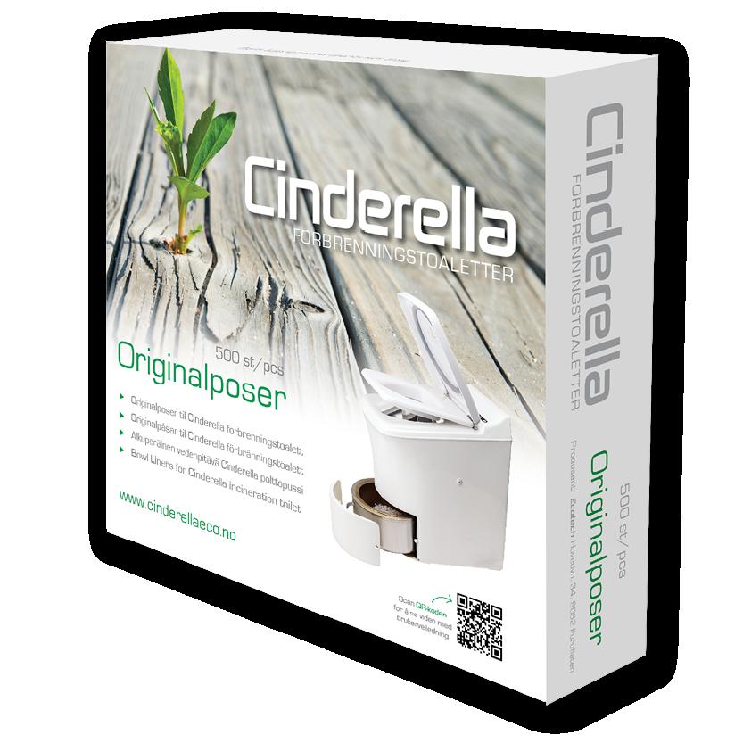 Cinderella Comfort Toilet Bags 500 pcs