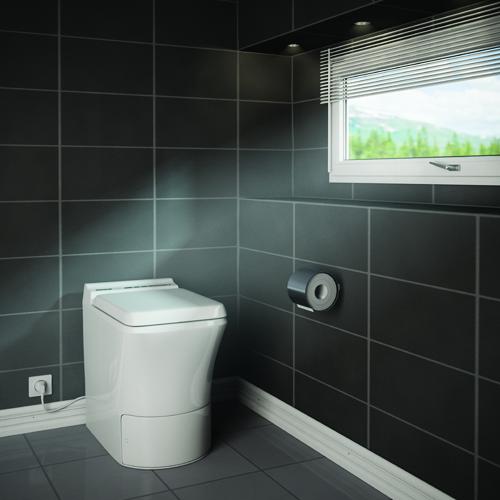 Cinderella Comfort Incinerator Toilet