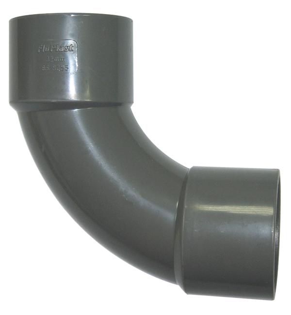 Floplast ABS 90 Degree Swept Bend