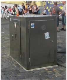 LS200W-V Vandal Resistant Pump Out Station