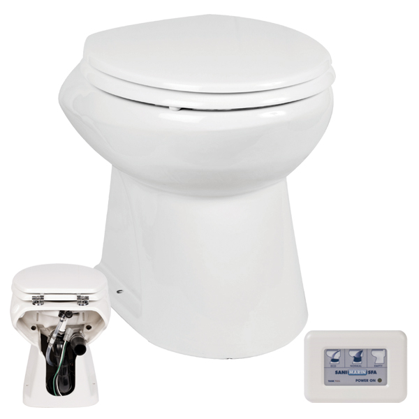 Electric Macerator Toilets Standard Height