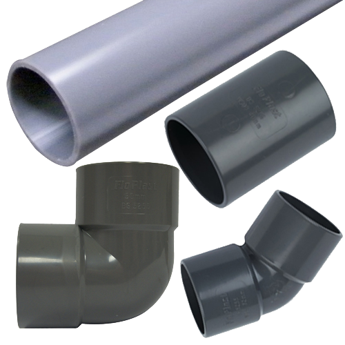 ABS Floplast Pipe and Fittings