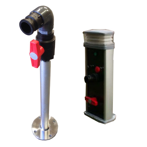 Pump Out Stand Pipes and Bollards