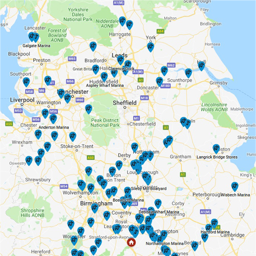 Pump Out Locations Guide UK