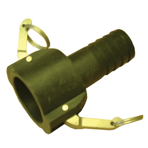 "1 ½""Camlock - Female Quick Release Coupling 1 ½"" Hosetail"