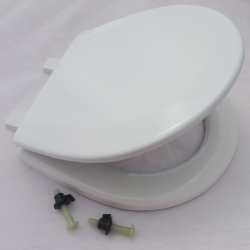 Jabsco PAR Seat & Lid, Small Bowl, Wooden,