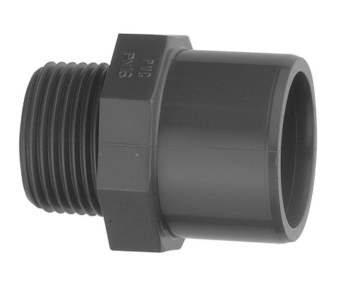 "2"" BSP Male ABS Adaptor Socket,"