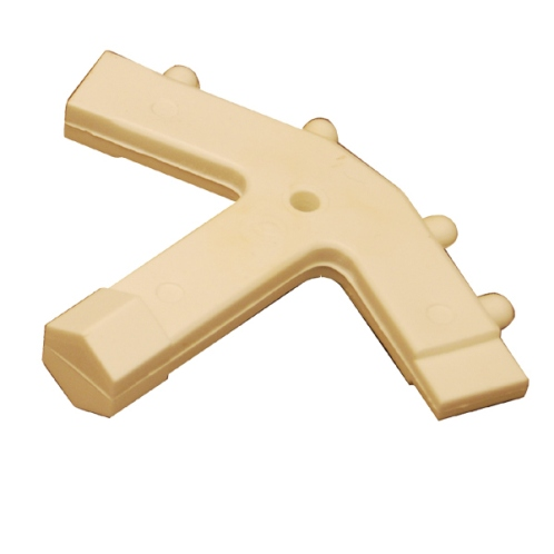 LeeSan Deck Fitting Key, Plastic, White