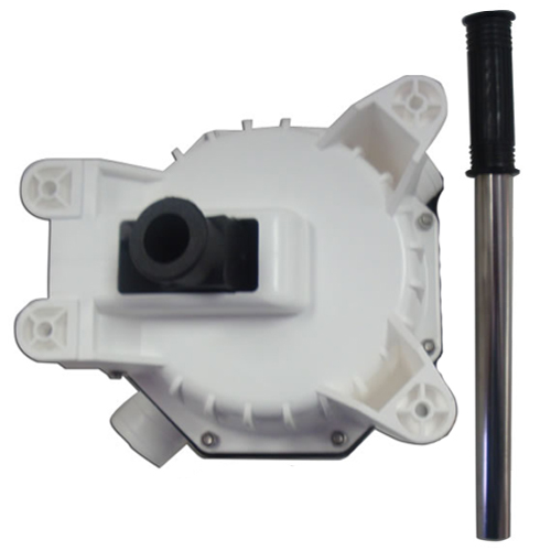 Manual Diaphragm Pump, Thru Bulkhead