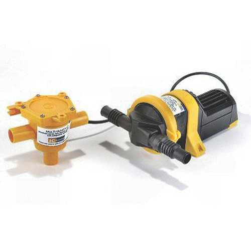Whale Grey IC Waste Pump System 12v or 24v DC