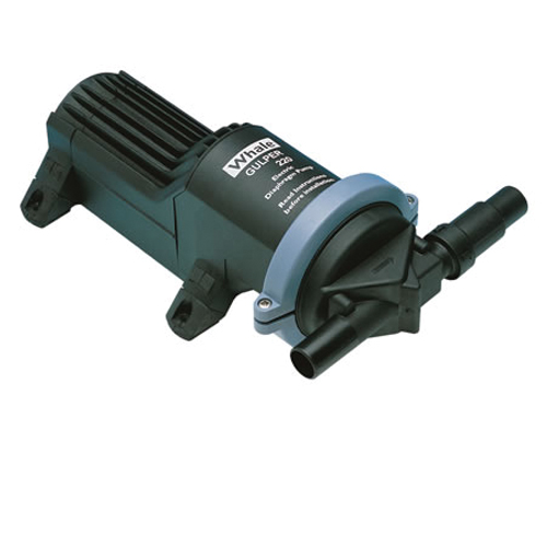 Whale Gulper 220 Grey Waste Pump 12v or 24v DC