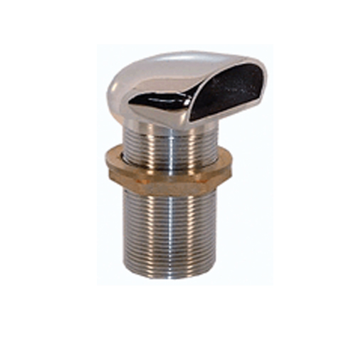 1 1/2 BSP Shell Scupper Vent Chrome