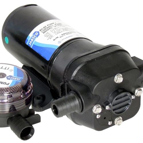 Bilge pumps jabsco self priming diaphragm pump 12v or 24v dc 31705 ccuart Choice Image
