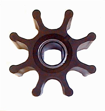 Jabsco Flexible Impeller, Nitrile, 14282-0003B