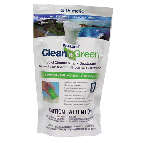 Dometic Sealand Clean n Green Holding Tank Cleanser (12 sachets)