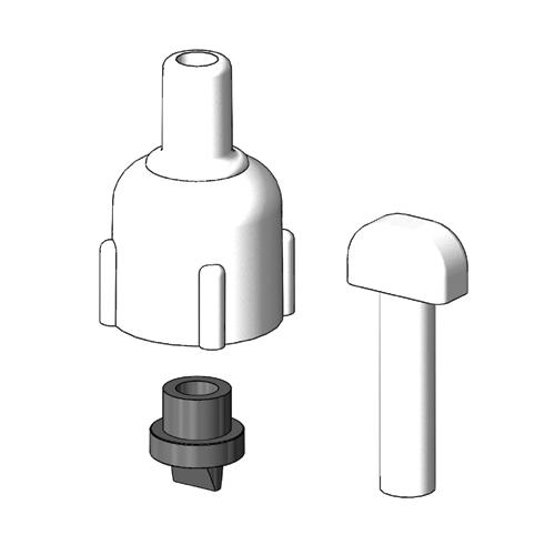 Tru Design Vented Loop Spare Parts, White, 90325