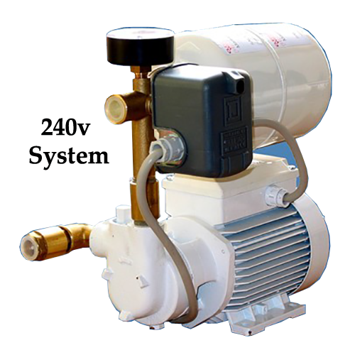 Jabsco Water Pressure System, AQM2