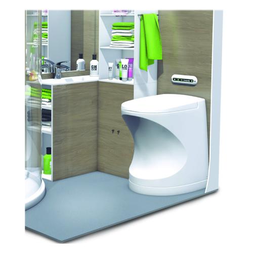 Cinderella Travel (formally Motion) Incinerator Toilet