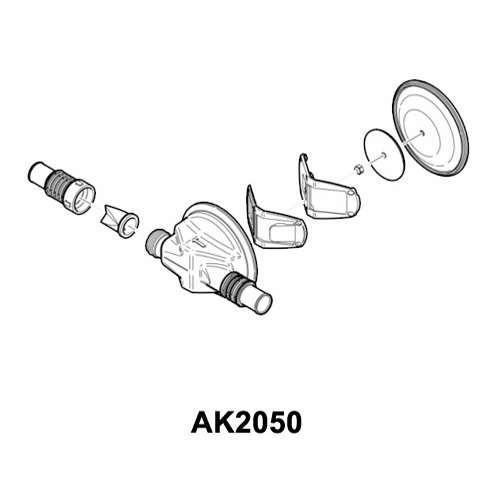 AK2050 Replacement Pump Head for Gulper®