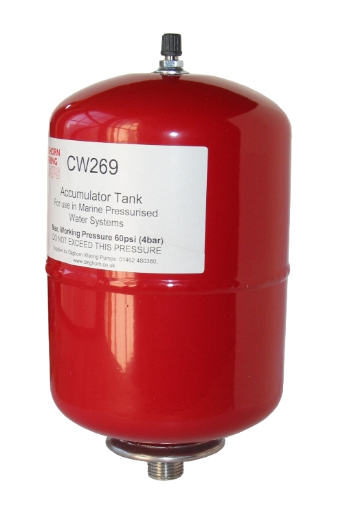 Accumulator Tank, 2 Litres, CW269