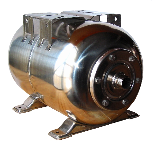 Stainless Steel Accumulator Tank, 24 Litres, CW476