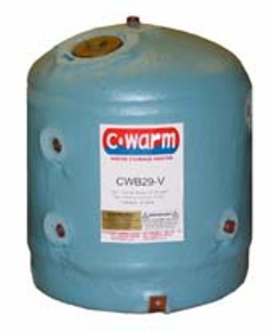 C Warm 29 litre Vertical Water Storage Heater