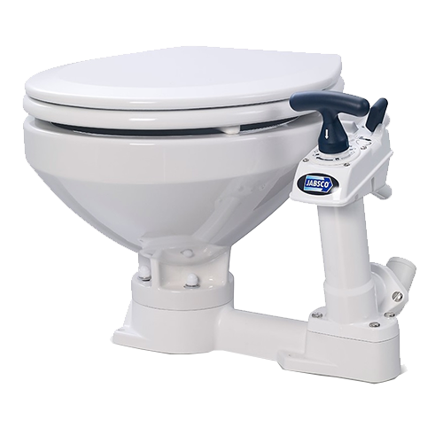 Jabsco PAR Manual Twist and Lock Toilet, Large or Compact Bowl