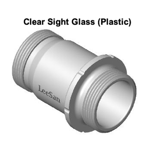 LeeSan Self Pump Out Sight Glass with Seal