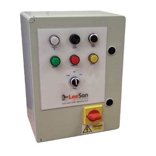 LeeSan Single Pump Control and Alarm Panel
